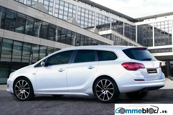 Cerchi da 20 e look sportivo per la nuova Opel Astra Sport Tourer by Irmscher 2