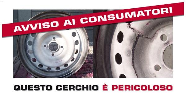 ASSORUOTE: No ai cerchi auto NON CONFORMI e NON RINTRACCIABILI 1