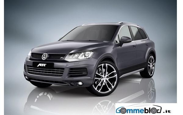 ABT Volkswagen Touareg: cerchi in lega da 22 pollici e gomme 295/30 1