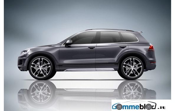 ABT Volkswagen Touareg: cerchi in lega da 22 pollici e gomme 295/30 2
