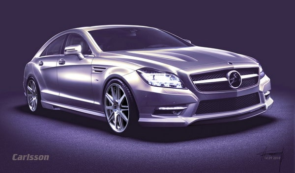 Carlsson Mercedes CLS: nuovi accessori auto in arrivo