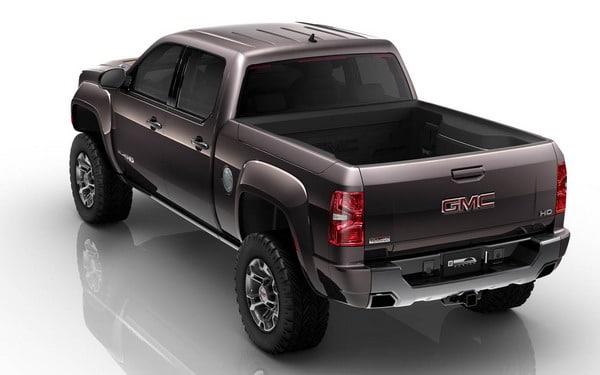 GMC All Terrain HD Concept: a Detroit con BF Goodrich da 20 pollici 1