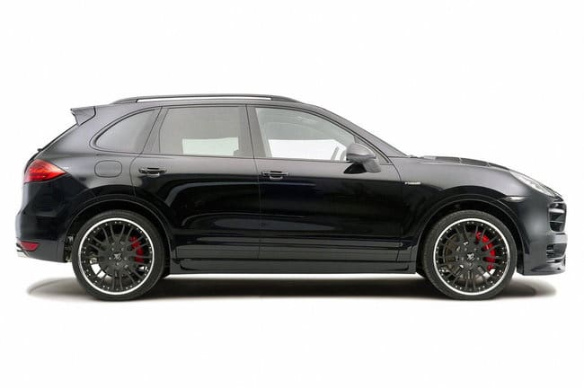 Cerchi in lega da 23 e gomme 315/25 per la Porsche Cayenne Tuning Hamann 1