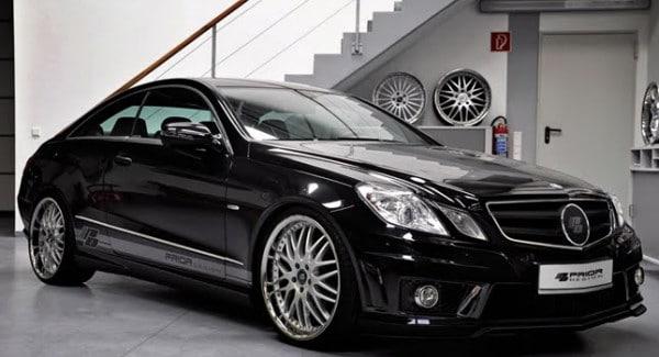 Cerchi in lega da 20 tra gli accessori per la Mercedes Classe E Coupè by Prior Design 1