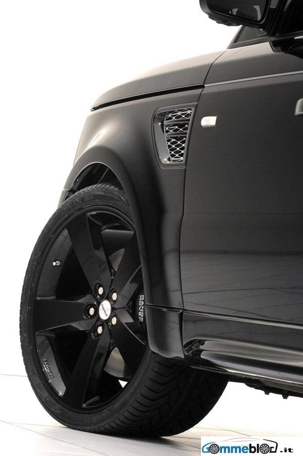 Cerchi in lega da 22 e gomme 295/30 per la Range Rover Sport by Startech 1