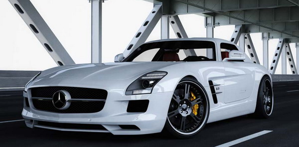 Cerchi in lega da 20 per la Mercedes SLS Tuning Wheelsandmore 1