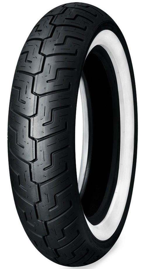 Harley - Davidson accessori 2011: pneumatici Dunlop D401 con fascia bianca 2