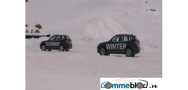 Nuova BMW X3: Test su neve con e senza pneumatici invernali 1