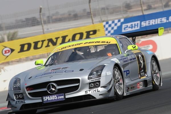 Pneumatici Dunlop alla 24 ore di Dubai 2