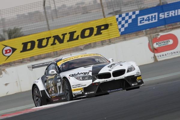 Pneumatici Dunlop alla 24 ore di Dubai 1