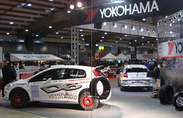 Yokohama all'Expo Rally di Brescia 1