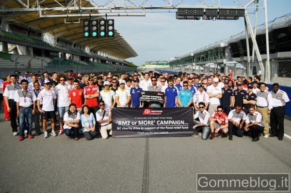 MotoGP 2011: Bridgestone scalda i pneumatici 2