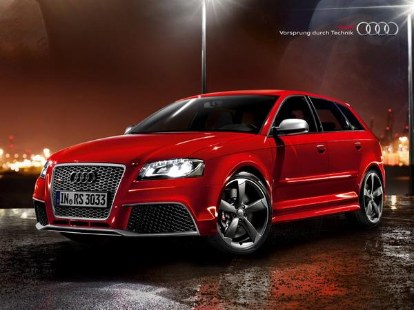 Audi RS3: pneumatici anteriori più larghi dei posteriori. Perchè? 1