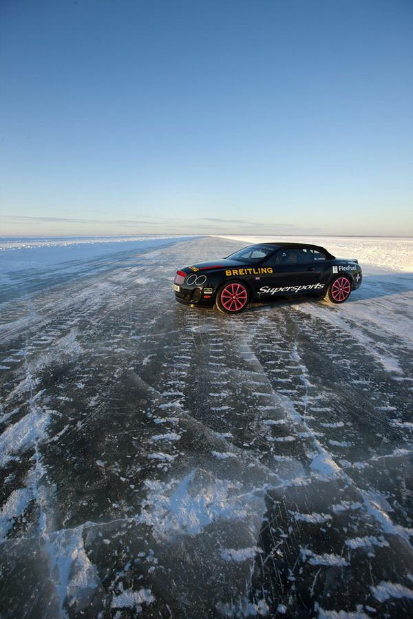 Pneumatici invernali Pirelli: nuovo record di velocità su ghiaccio
