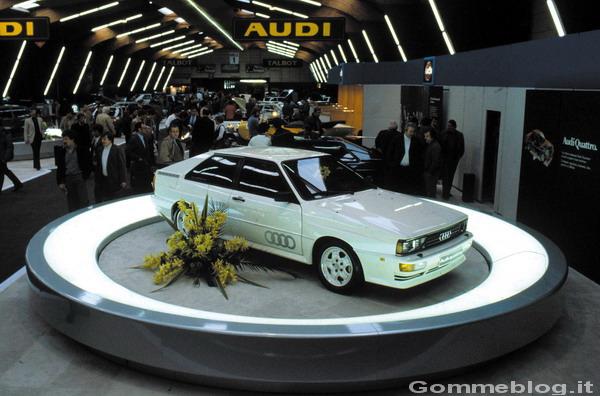 Supercar Storiche: Audi Urquattro (Audi quattro) 1