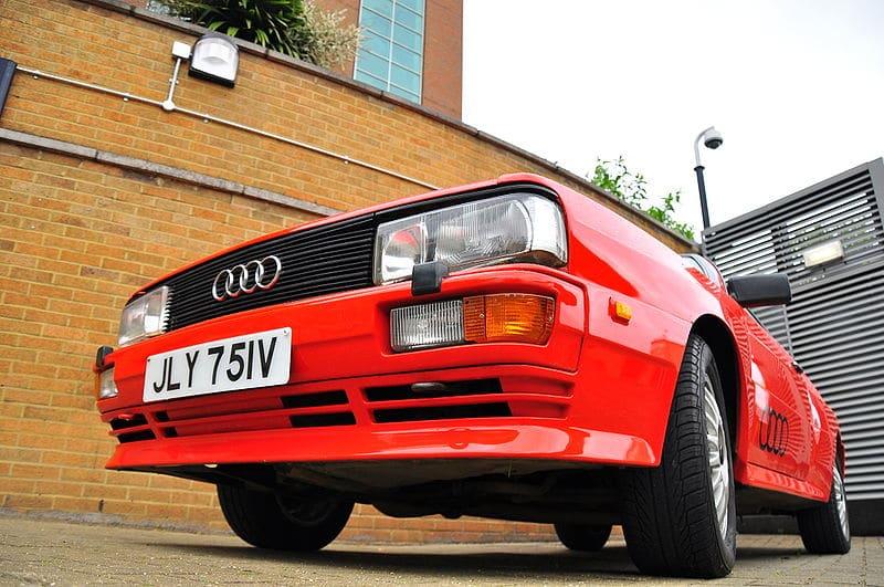Supercar Storiche: Audi Urquattro (Audi quattro)