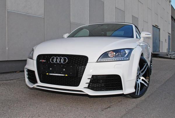 Audi TTRS Tuning: 420 Cv e pneumatici Continental Sport Contact 3 1