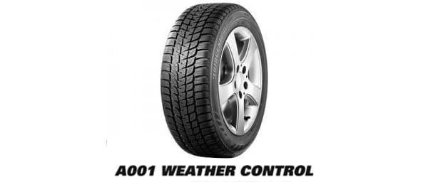 Bridgestone A001 Weather Control: pneumatici per inverni temperati e piovosi 1