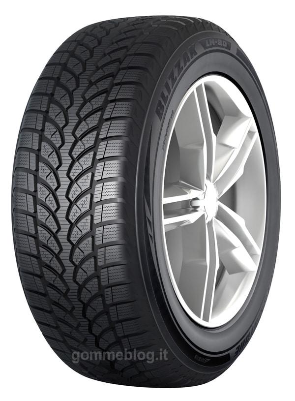 Bridgestone Blizzak LM-80: nuovi pneumatici invernali SUV 1