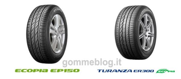 Bridgestone Gomme espande la gamma pneumatici Ecopia