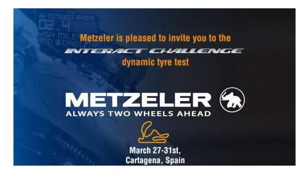 Test Pneumatici Metzeler Interact: sei pronto a partire per la Spagna !!??