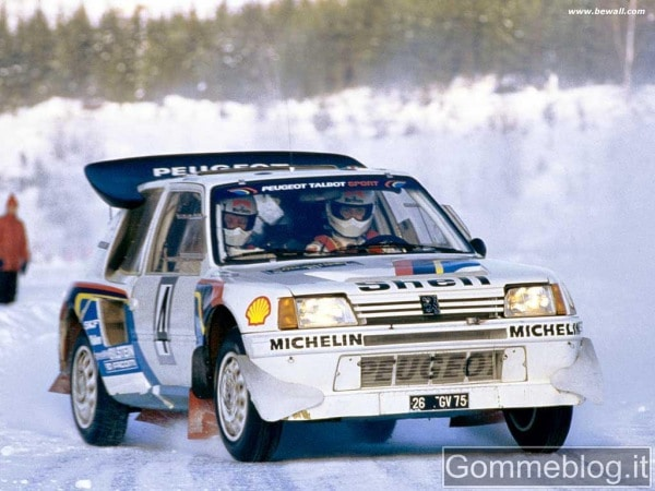 Supercar Storiche: Peugeot 205 Turbo 16 (205 T16)