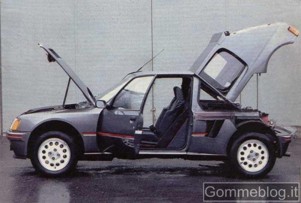 Supercar Storiche: Peugeot 205 Turbo 16 (205 T16) 2