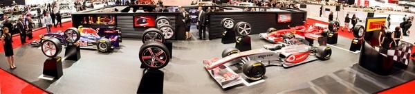 Pneumatici Pirelli al Salone dell'auto di Ginevra 2011