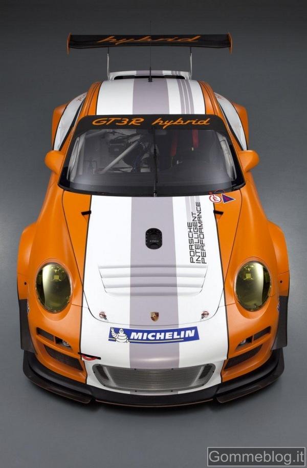 Porsche 911 GT3 R Hybrid 2.0: sistema ibrido e pneumatici Michelin pronti per il Nurburgring 1
