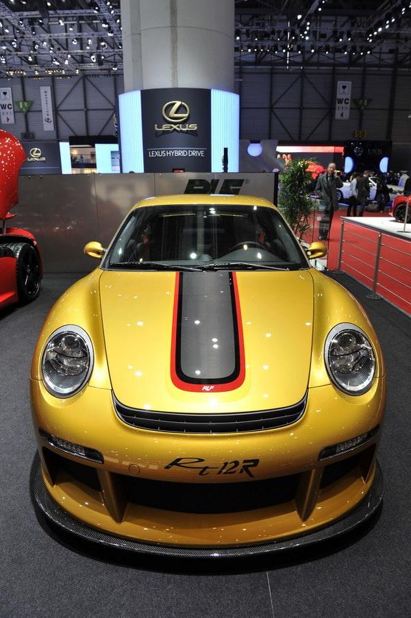 Pneumatici Michelin Pilot Sport Cup  per la nuova RUF RT12 R 1
