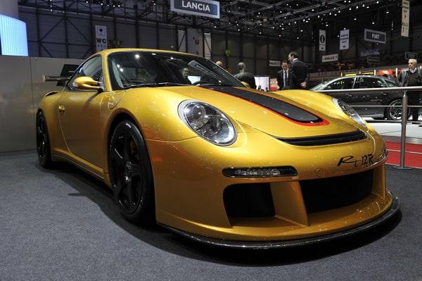 Pneumatici Michelin Pilot Sport Cup  per la nuova RUF RT12 R 2