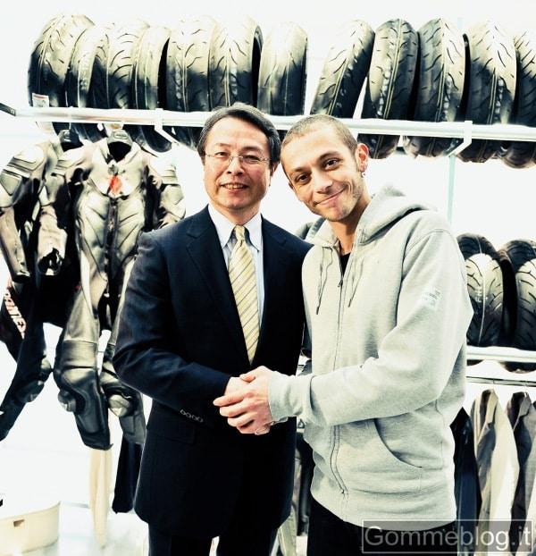Valentino Rossi: nuovo Consulente per lo Sviluppo dei pneumatici moto Bridgestone 2
