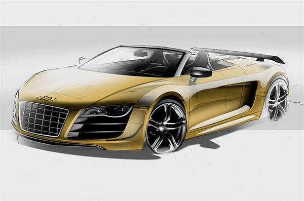 Audi R8 GT Spyder: 560 CV a cielo aperto