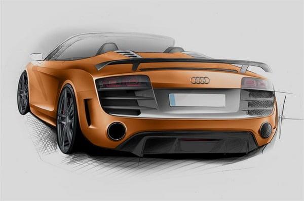 Audi R8 GT Spyder: 560 CV a cielo aperto 2