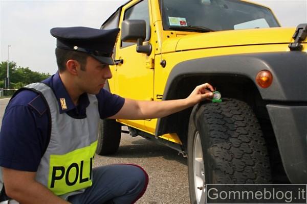 """Pneumatici Sotto Controllo: presentata oggi l'iniziativa """"Vacanze Sicure 2011"""""""