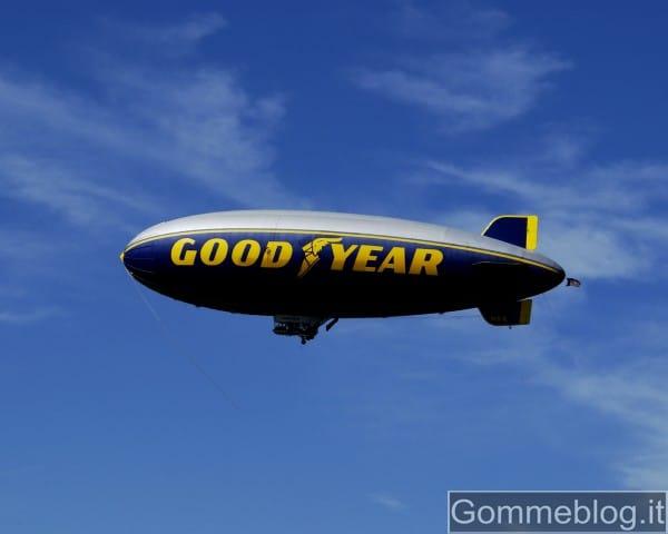 Il Dirigibile Goodyear arriva a Milano