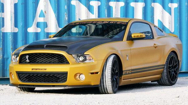 Michelin Pilot Super Sport per la Ford Mustang Shelby GT640 Golden Snake 3
