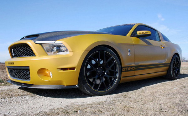Michelin Pilot Super Sport per la Ford Mustang Shelby GT640 Golden Snake
