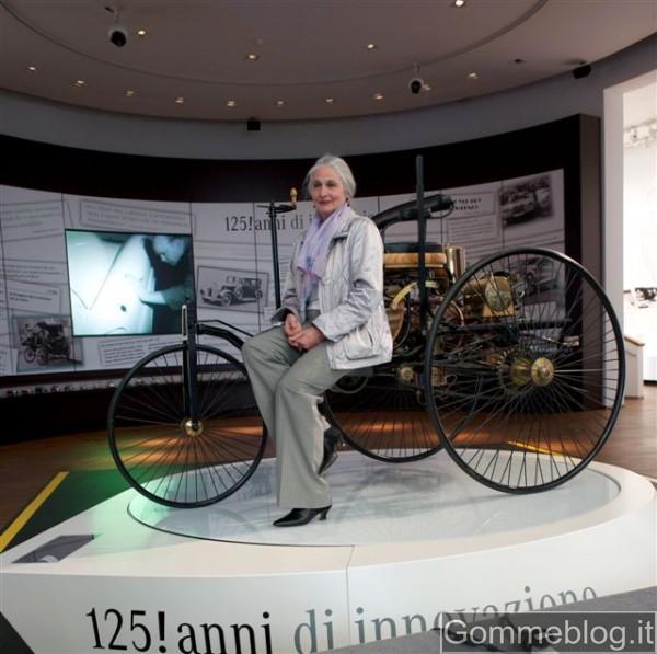 Jutta Benz e l'Ente Nazionale Germanico per i 125 anni dell'automobile 2