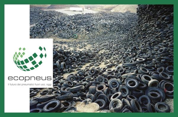 Ecopneus: il contributo per il recupero dei pneumatici Non È Una Tassa