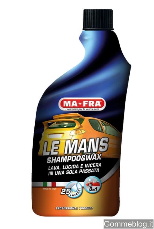MA-FRA LE MANS: lo shampoo con cera ad alte prestazioni