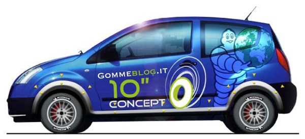 I piccoli pneumatici da 10 pollici protagonisti del Michelin Challenge Bibendum 2011