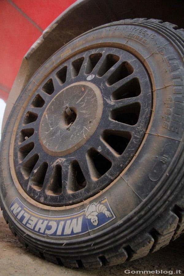 Tecnica: Zoom su un pneumatico da Rally