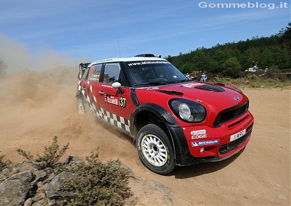 Pneumatici Michelin Latitude Cross: Successo nel rally di Sardegna 2