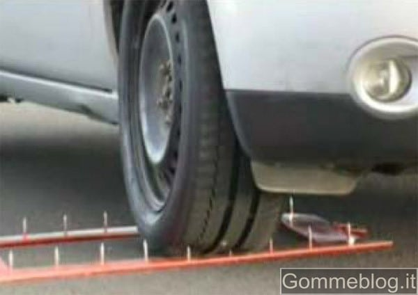 Michelin presenta il 1° Pneumatico Autoriparante