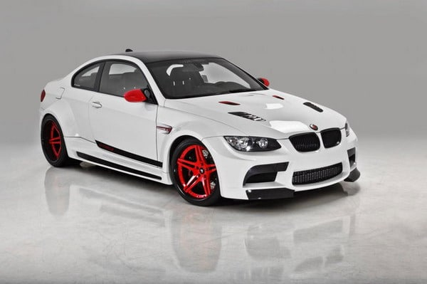 Pneumatici Michelin Pilot Super Sport per il nuovo Tuning BMW M3 Vorsteiner 2