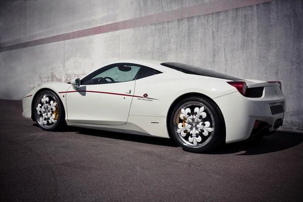 Tuning Ferrari 458 Italia Graf Weckerlele: 600 CV e cerchi in lega da 21 super raffinati