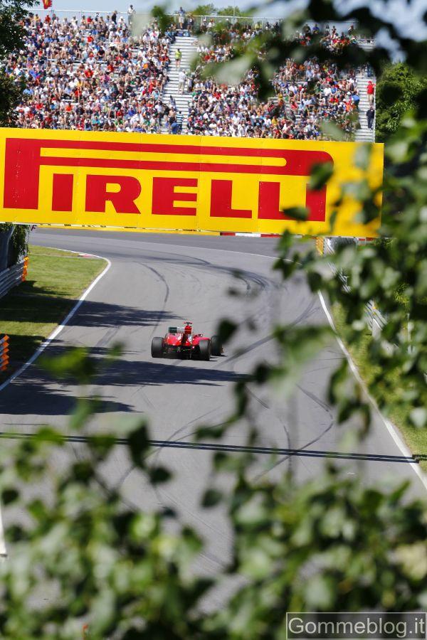 Il GP Formula 1 del Canada dal punto di vista degli pneumatici: Video in HD 2