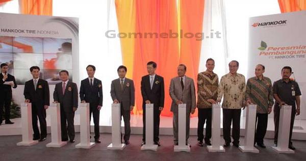 Hankook posa la prima pietra in Indonesia per il proprio 7° impianto