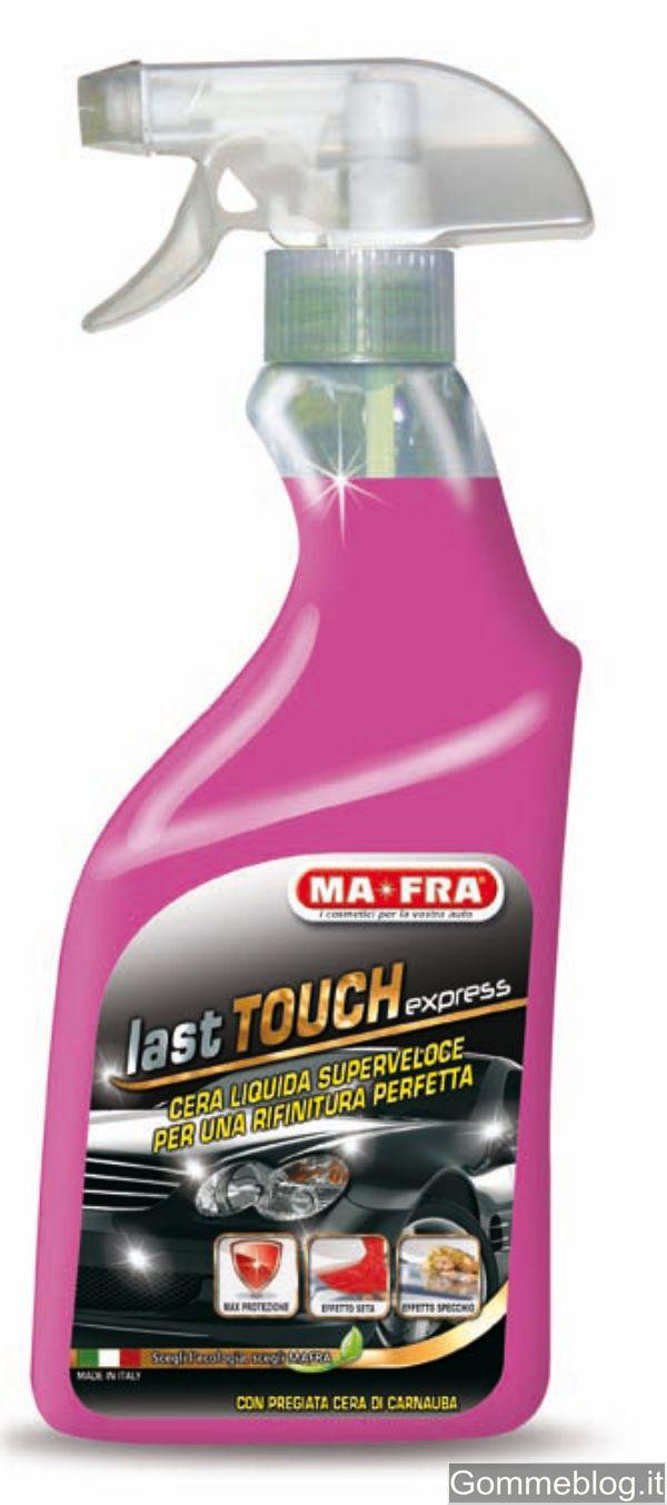 MA-FRA Last Touch Express: cera liquida che dona estrema lucentezza anche con la pioggia